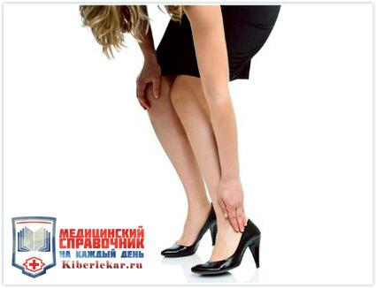 причиной артроза голеностопа у женщин являются каблуки