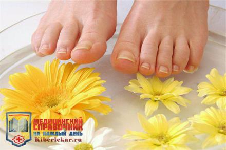 лечение подагры прогреванием ног в горячих ваночках