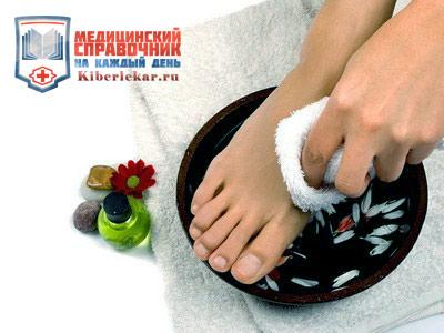 теплые ванночки избавляют от нароста на костях