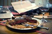 при подагре стоит отказаться от жирной мясной пищи