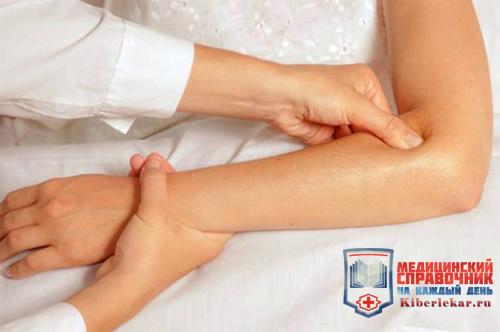 массаж при эпикондилите локтевого сустава снижает боль
