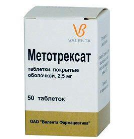 метотрексат хорошо помогает при псориатическом артрите