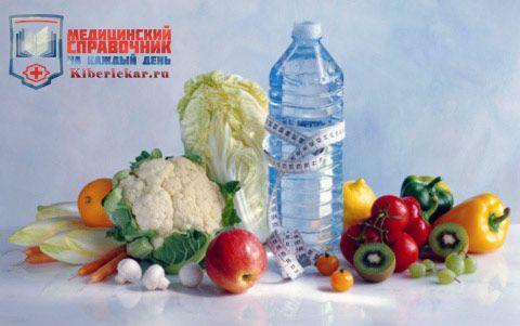 Щелочной баланс быстро восстанавливаеться если начать питаться фруктами и овощами