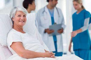 Идет подготовка пациент к операции