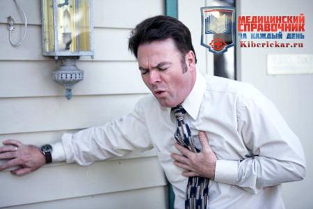 У мужчины начались боли в груди прямо на рабочем месте